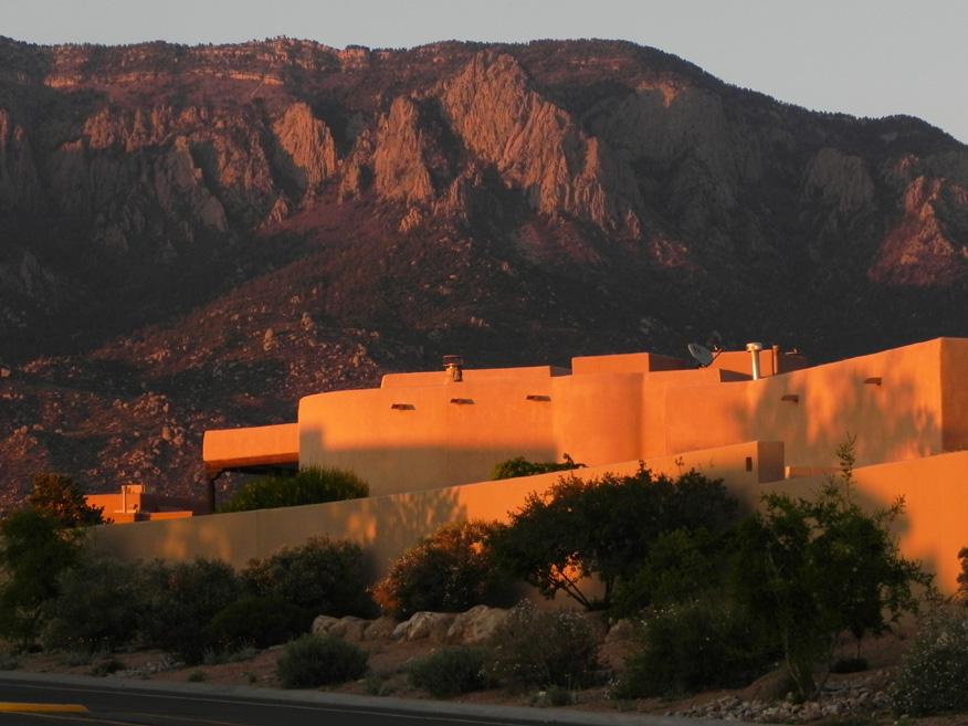 sunset at High Desert